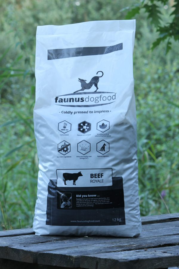 FAUNUS DOGFOOD BEEF ROYALE 12 KG