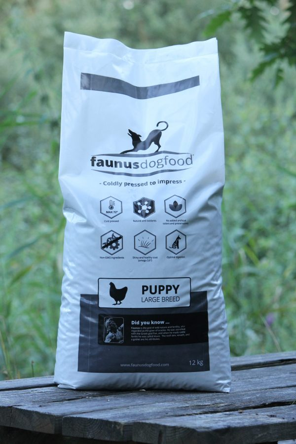 FAUNUS DOGFOOD PUPPY LARGE BREED 12 KG